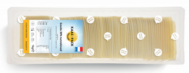 Gouda 48% slices Kaas-Pack Cheese the Day!